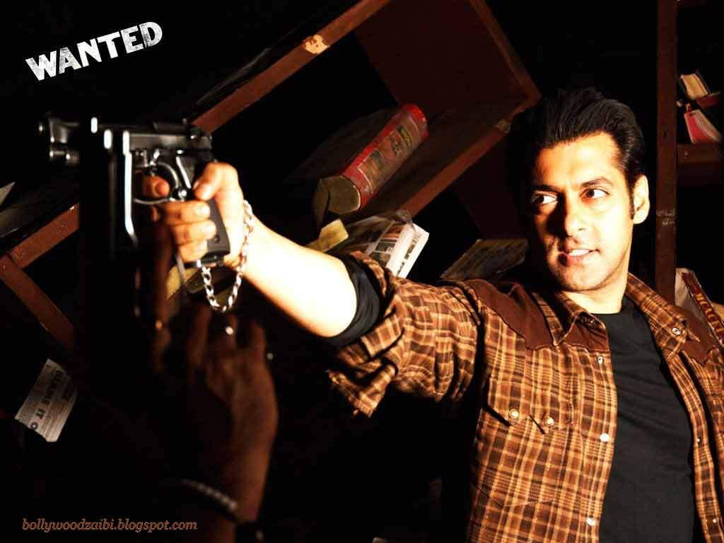 Salman Khan In Wanted Hd Wallpaper Bollywood Zaibi