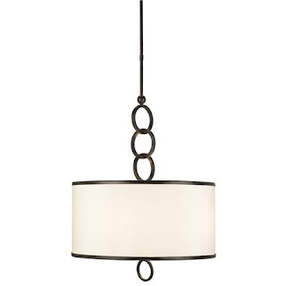24 chain links drum pendant chandelier from shades of light 599