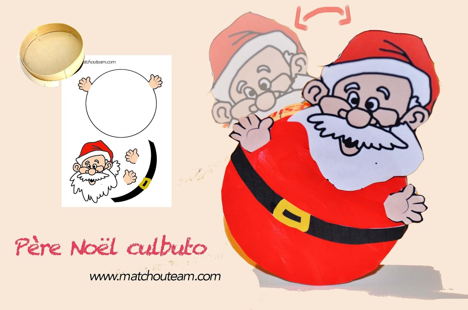 #C0100B Ma Tchou Team: Père Noël Culbuto 5519 décorations de noel tête à modeler 1600x1059 px @ aertt.com