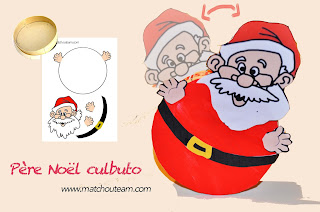 Père Noël culbuto TAP