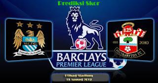 Prediksi Skor Manchester City vs Southampton Liga Inggris 19 Agustus 2012