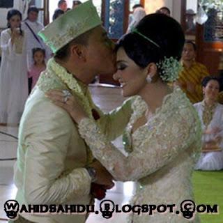 Foto Pernikahaan Anang dan Ashanty