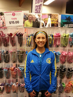 Boston marathon jacket