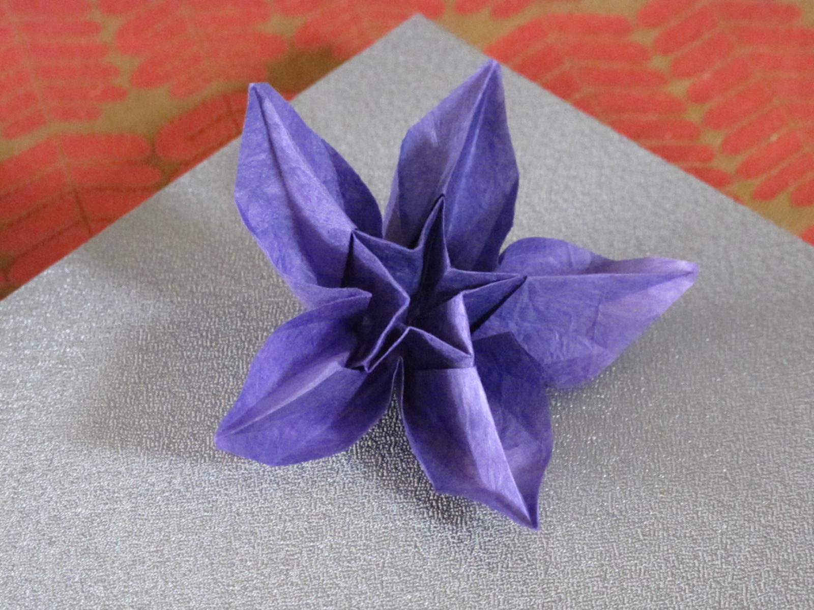 Just Create Every Day Origami Carambola Flowers