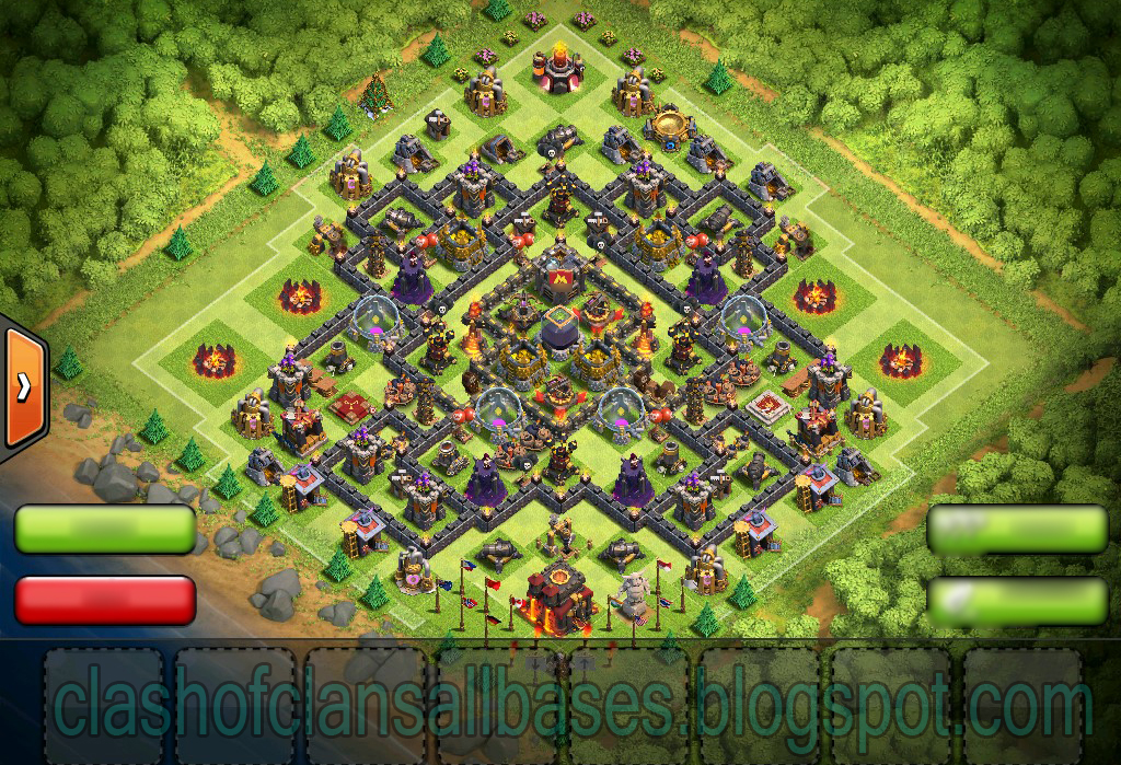 Clash of clans th10 farming base to protect dark elixir clash of