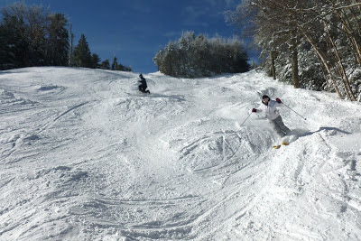 Bombing the bumps on Chatiemac.  The Saratoga Skier and Hiker, first-hand accounts of adventures in the Adirondacks and beyond, and Gore Mountain ski blog.