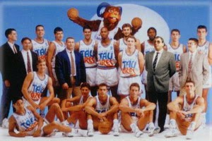 TAU BASKONIA 1992-1993. Liga ACB