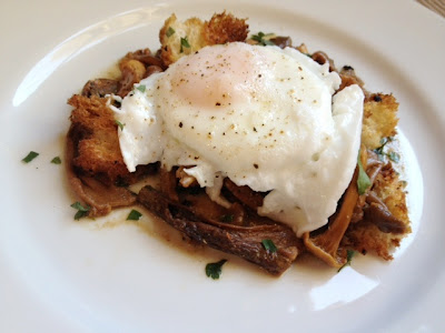 Plenty Ottolenghi Mushroom Ragout Poached Egg Recipe