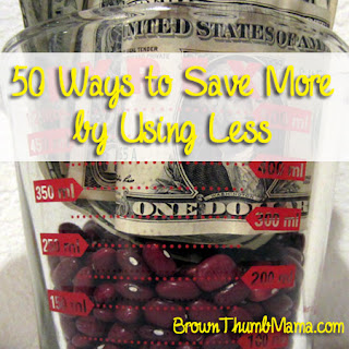 50 Ways to Save More By Using Less