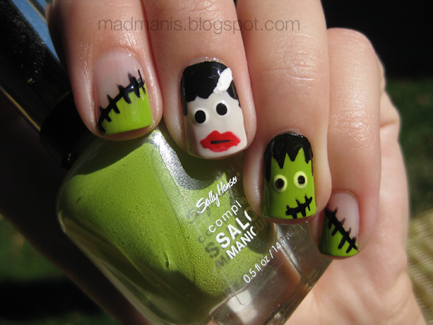 mad manis frankenstein & bride