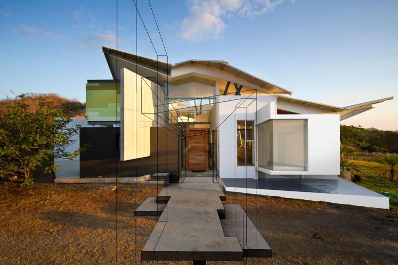 Hogares frescos casa construida en madera permite la luz - Casas con luz natural ...