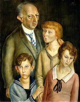 Otto Dix - la famille Glaser