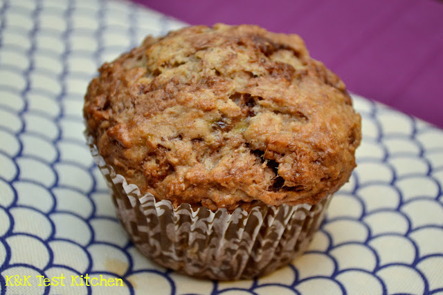 healthy banana nutella muffin recipe
