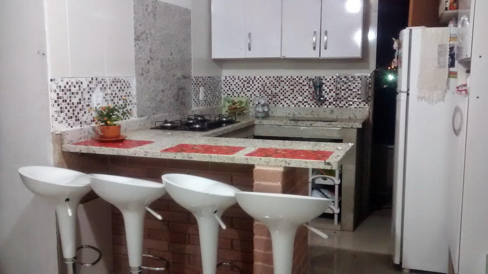 Tijolo Ecológico e o meu sonho !: Minha cozinha americana! #903F3C 1600 899