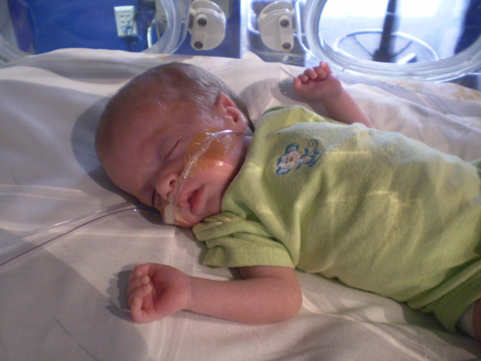 Baby born at 26 weeks