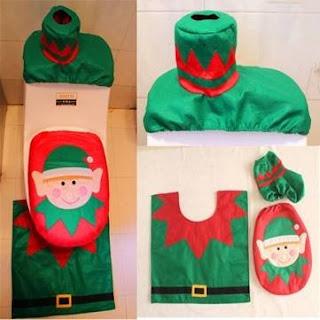 Set Bagno Babbo Natale.Attrezzature Per Bagni Set Da Bagno Degli Elfi Di Babbo Natale