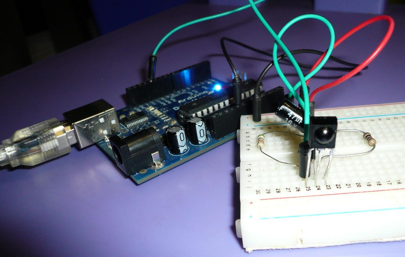 Lectronique en amateur clonage d 39 une t l commande infrarouge avec un arduino 1 - Detecteur de mouvement ne s eteint plus ...