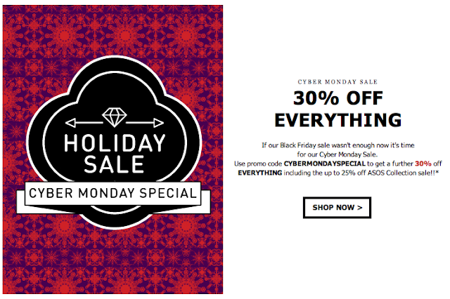 Cyber monday coupon code