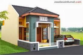 desain rumah type 45 tingkat
