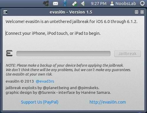 evasion ubuntu