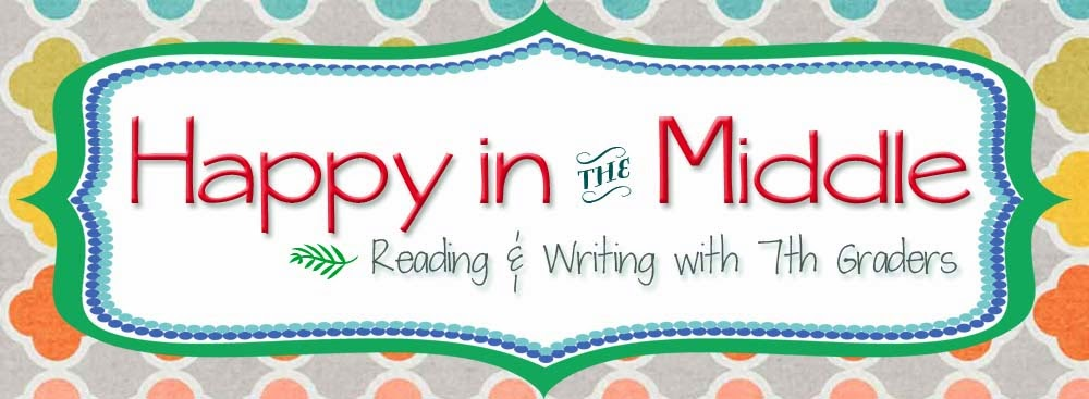 Happy in the Middle: Reading & Writing with 7th Graders