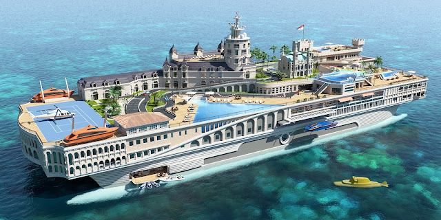 The Breath-taking $1 Billion 'Streets Of Monaco' Superyacht!!!