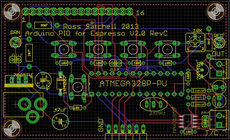 Schematic and pcb available arduino based coffee