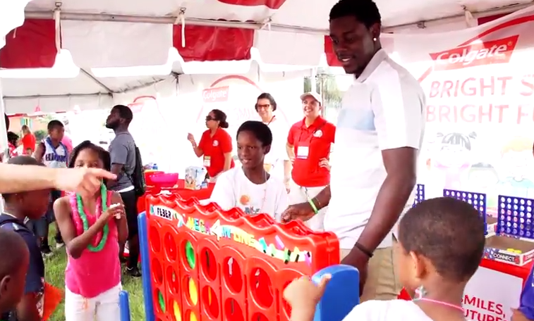 """JRUE HOLIDAY HELPS HOMETOWN NEW ORLEANS YOUTH WITH """"HEALTH NOW"""" INITIATIVE"""