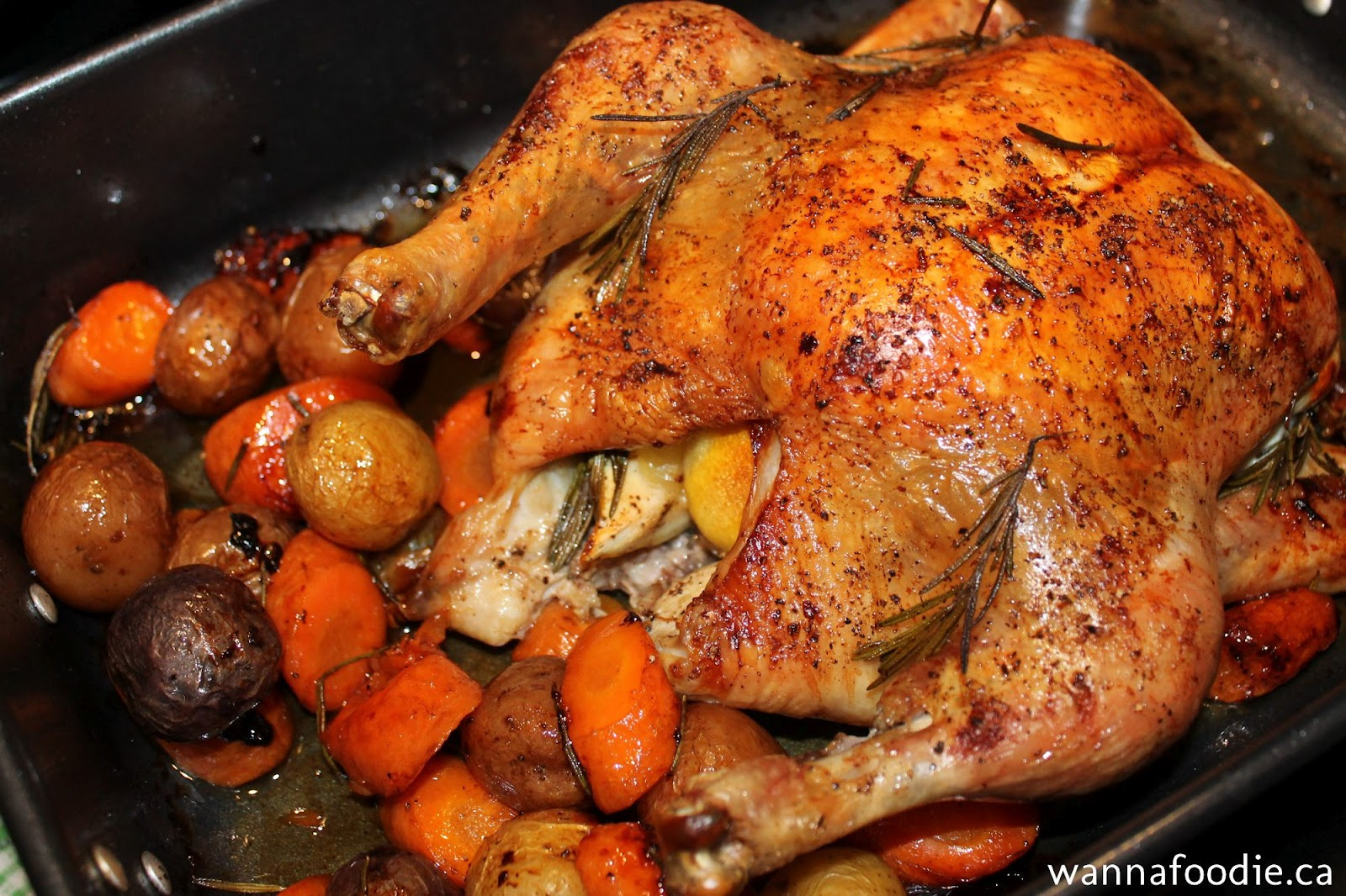 wannafoodie.ca: My Roasted Chicken