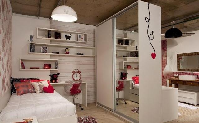 Dormitorios y habitaciones para chicas jovenes for Decoracion de cuartos para mujeres