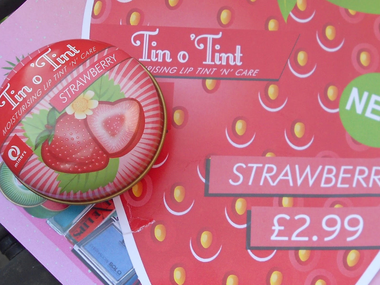 miners tin o tint strawberry review