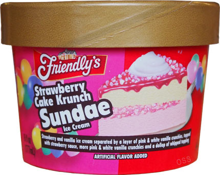 Now it can be with Friendlys Cake Singles The Cake Singles are personalsized ice cream cakes and there are four tasty flavors to choose from Birthday Cake Chocolate Krunch Strawberry