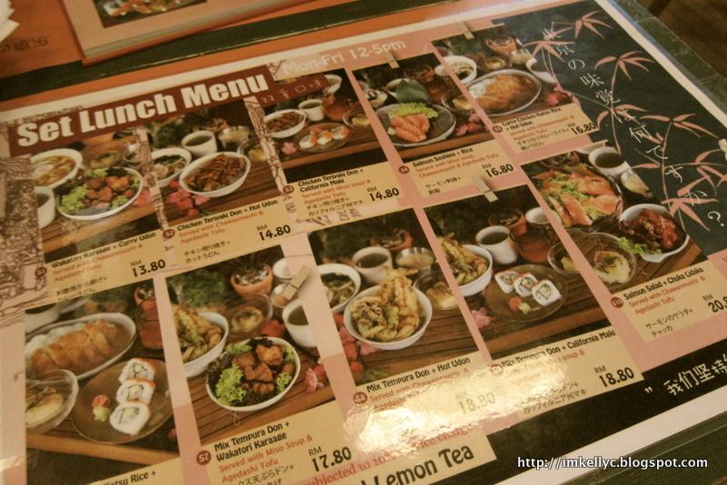 Kelly C Tokyo Kitchen Sunway Giza Kota Damansara
