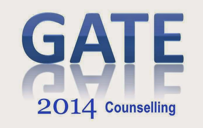 GATE 2014 counselling