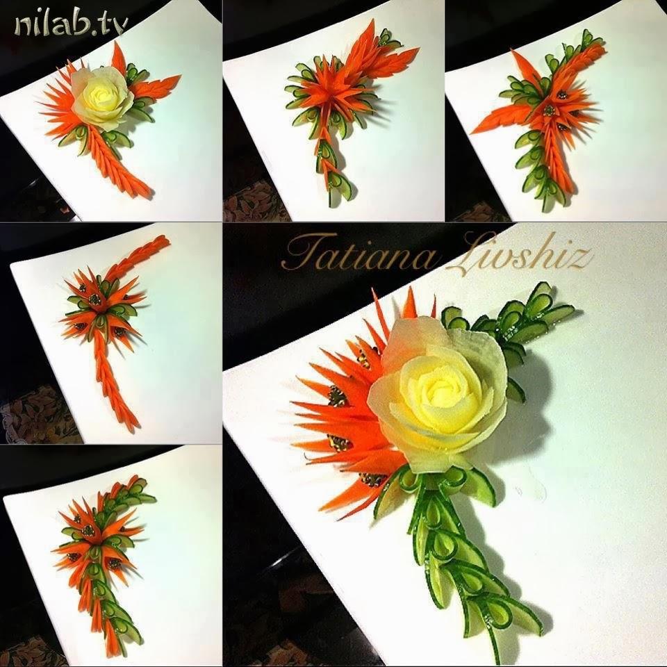 Sheidaart food decoration ideas for Art of food decoration