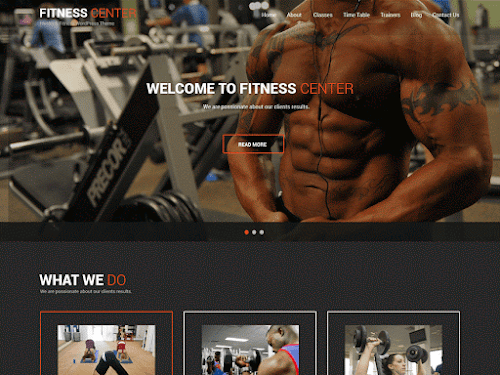 Download Tema WordPress Fitness Lite