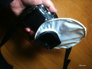 內閃柔光片(改)flash diffuser