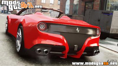 IV - Ferrari F12 Roadster