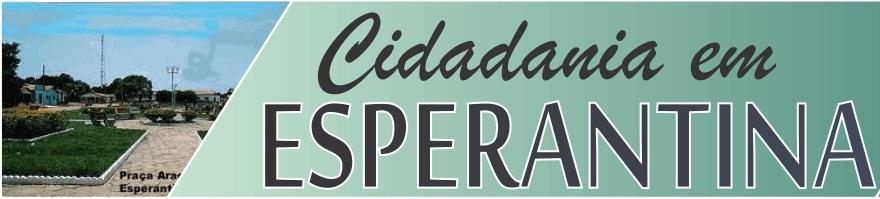 Cidadania em Esperantina-TO