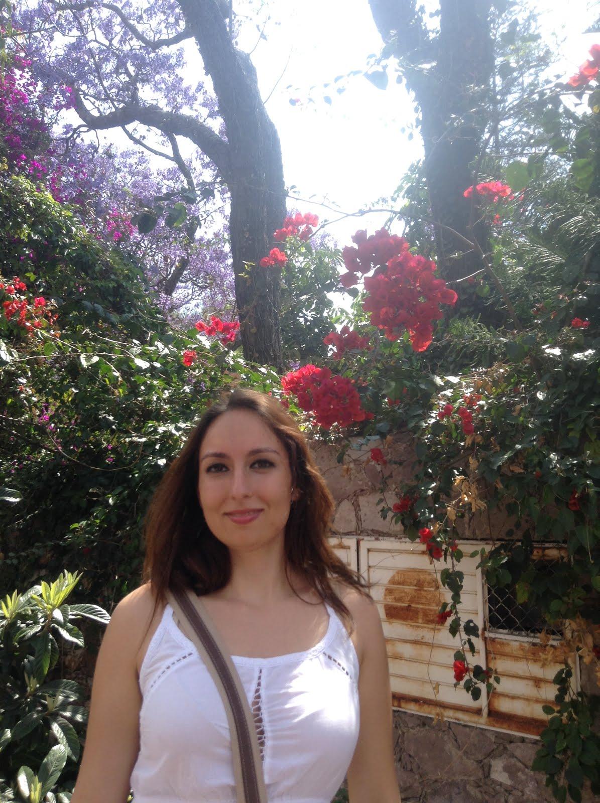 Flores y yo