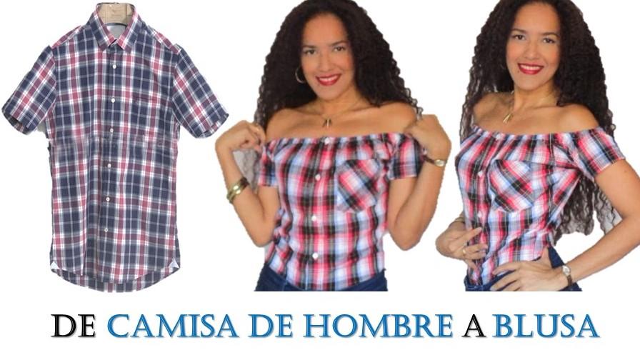 Aprende Hombros Camisa De Blusa Sandra A Hombre Con Padilla w6wSxPOqFU