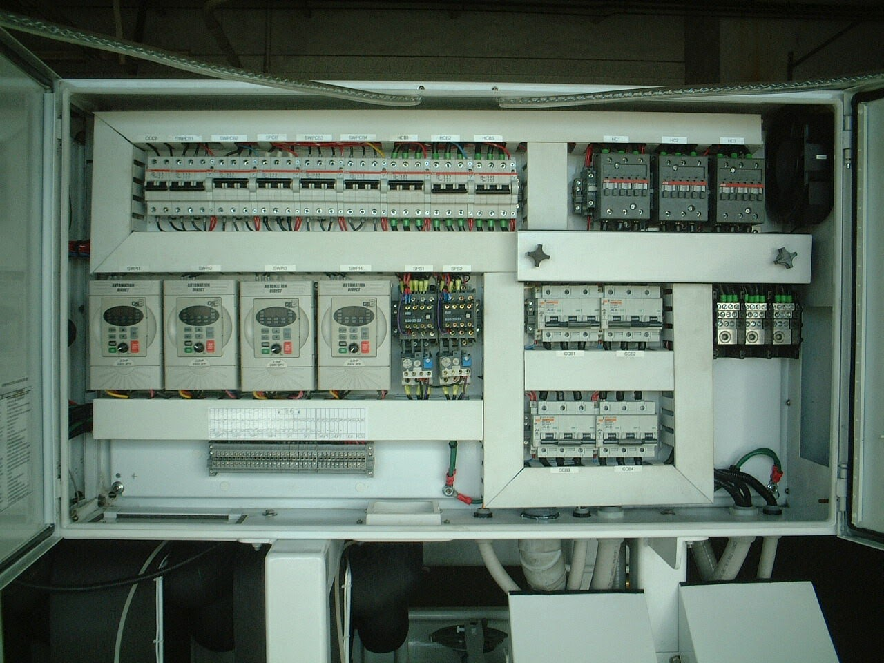 chiller+control+panel electrical wiring diagrams for air conditioning systems part ahu control panel wiring diagram at webbmarketing.co