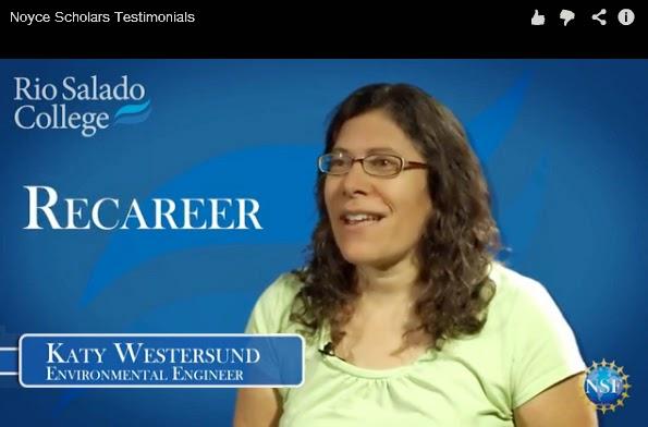 Rio Salado College Noyce Scholar Katy Westersund