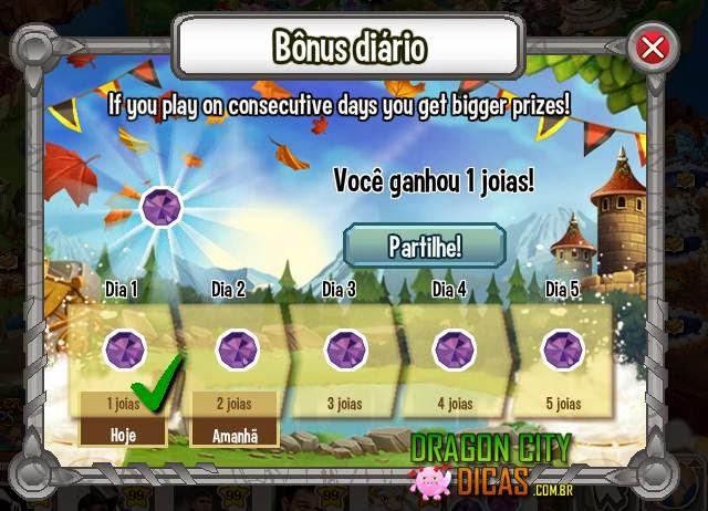 Novo Bônus Diário