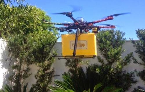 Padaria de são paulo começa a fazer entregas com drones