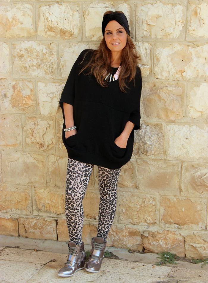 בלוג אופנה Vered'Style סניקרס כסופות עם עקב