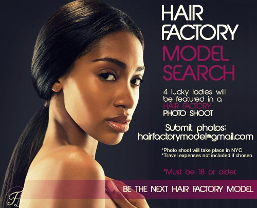 Are you Hairfactory's next hair model?