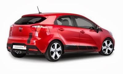 Kia Rio Competition : Extra Rally optics for 1,199 euros