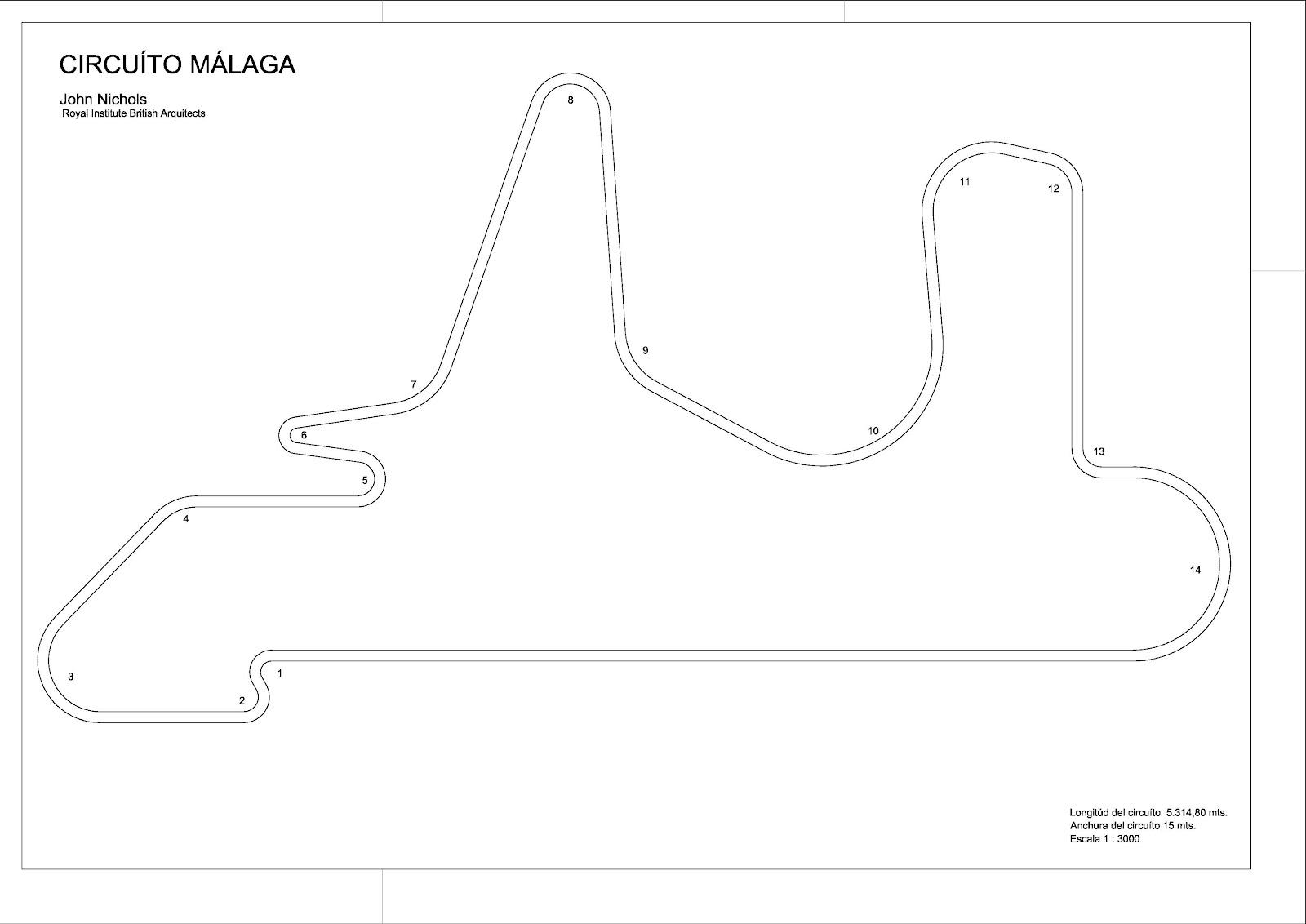 Circuito And : New race circuit circuito málaga