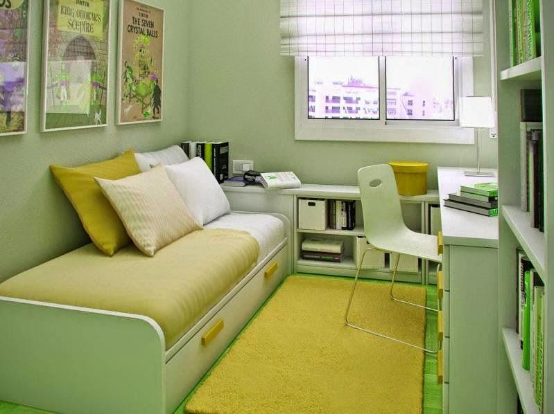 Desain kamar tidur ukuran 2x3